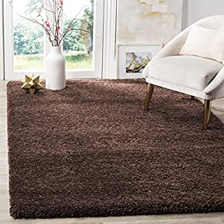 Safavieh Milan Shag Collection SG180-2525 Brown Area Rug (8' x 10') (B00G4ITRK6) | Amazon price tracker / tracking, Amazon price history charts, Amazon price watches, Amazon price drop alerts
