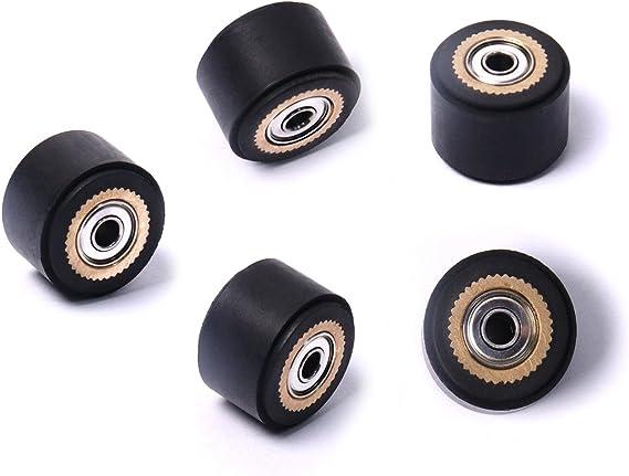 ATOPLEE 5pcs Rodillo de Presión para Roland Corte de Vinilo Plotter de Corte (4 mm x 11 mm x 16 mm): Amazon.es: Hogar