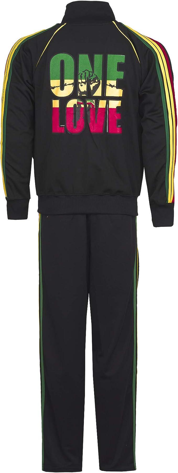 One Love Bob Marley - Conjunto de chándal con Capucha y Pantalones ...