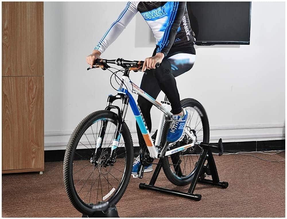 FANLIU Magnética de Bicicletas Bike Trainer Turbo Trainer Cubierta Ejercicio de Bicicletas Soporte El Soporte Plegable de Bicicleta estática for Bicicletas de montaña y Carretera: Amazon.es: Deportes y aire libre