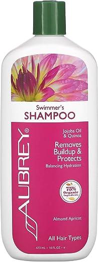 Aubrey Organics, Swimmer's Shampoo, pH Neutralizer, All Hair Types, 16 fl oz (473 ml)