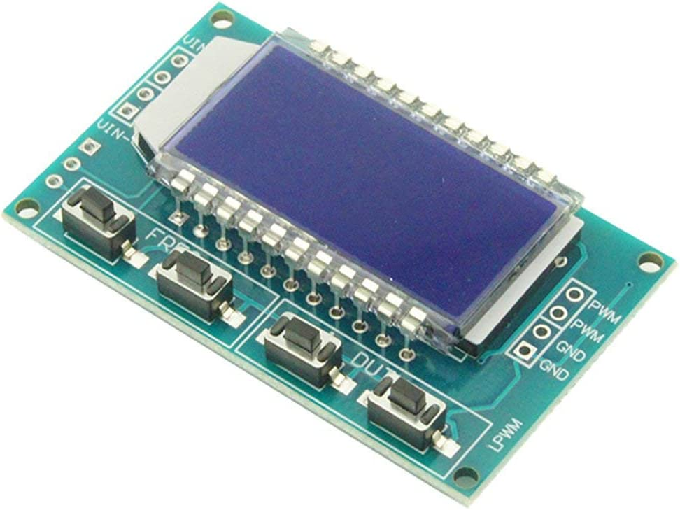 Swiftswan PWM Pulse Frequency Duty Cycle Adjustable Rectangular Wave Signal Generator