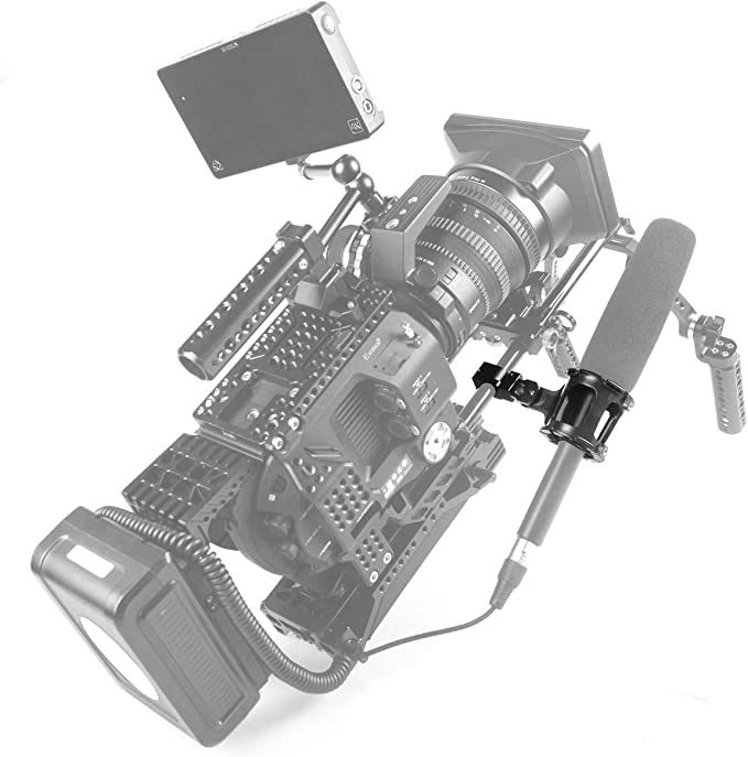 1802 SMALLRIG Universel Suspension Antichoc//Shock Mount//Support Amortisseur pour tige 15 mm Rod de 15mm