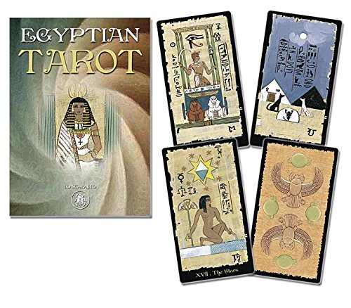 Egyptian Tarot Grand Trumps: Lo Scarabeo: 9780738746364 ...