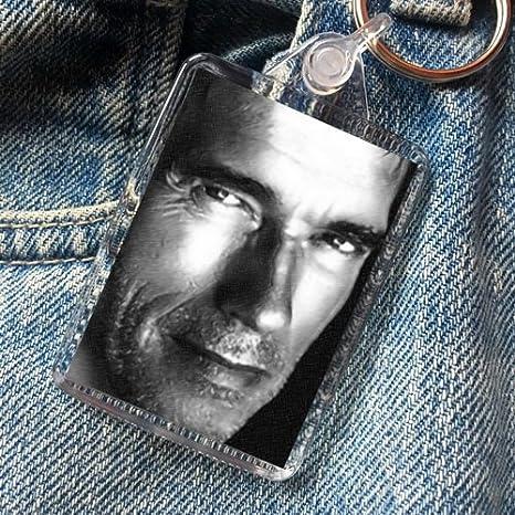Amazon.com: Arnold Schwarzenegger – Original Art de llavero ...