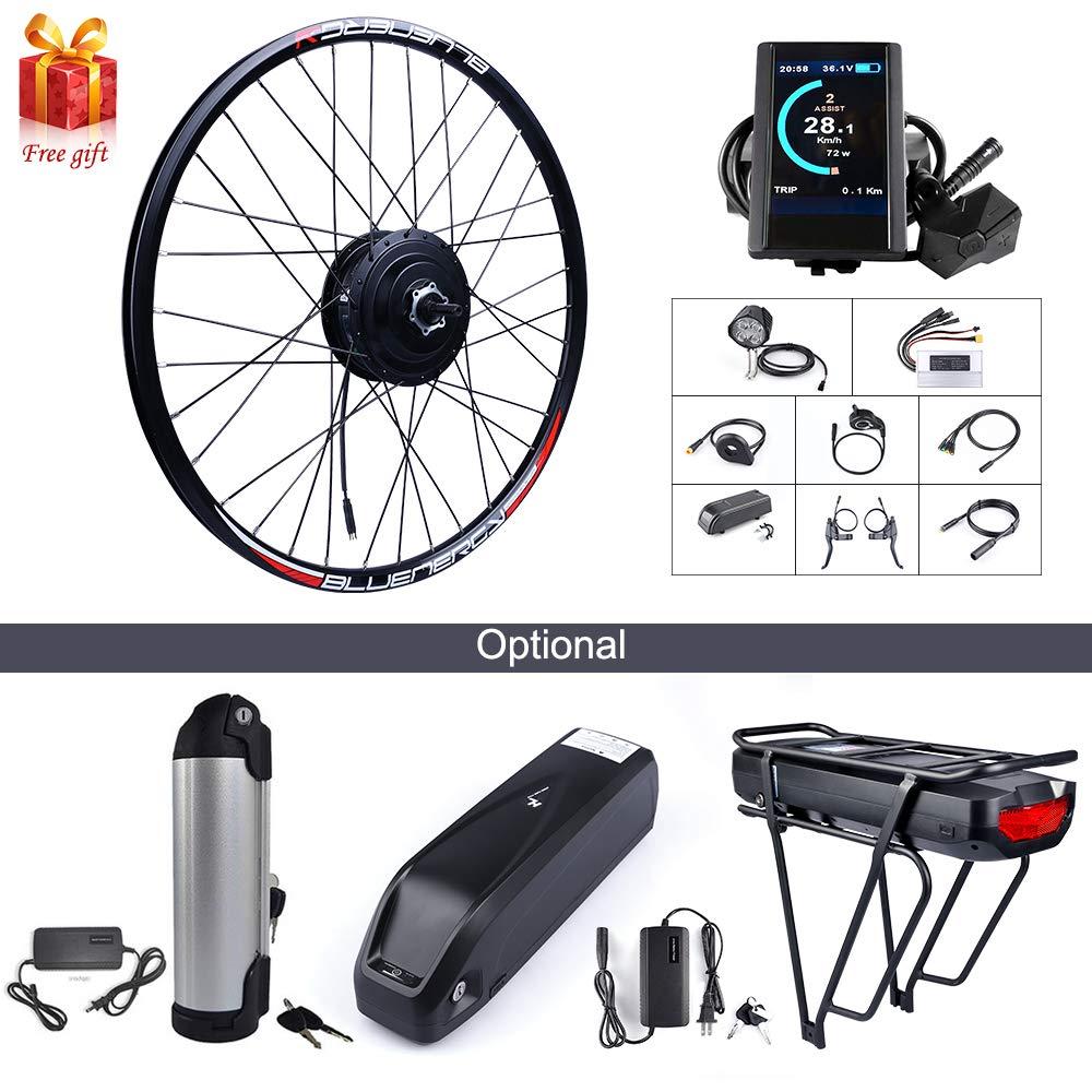500W 48Vハブモーター電動自転車変換キット、各種自転車用20