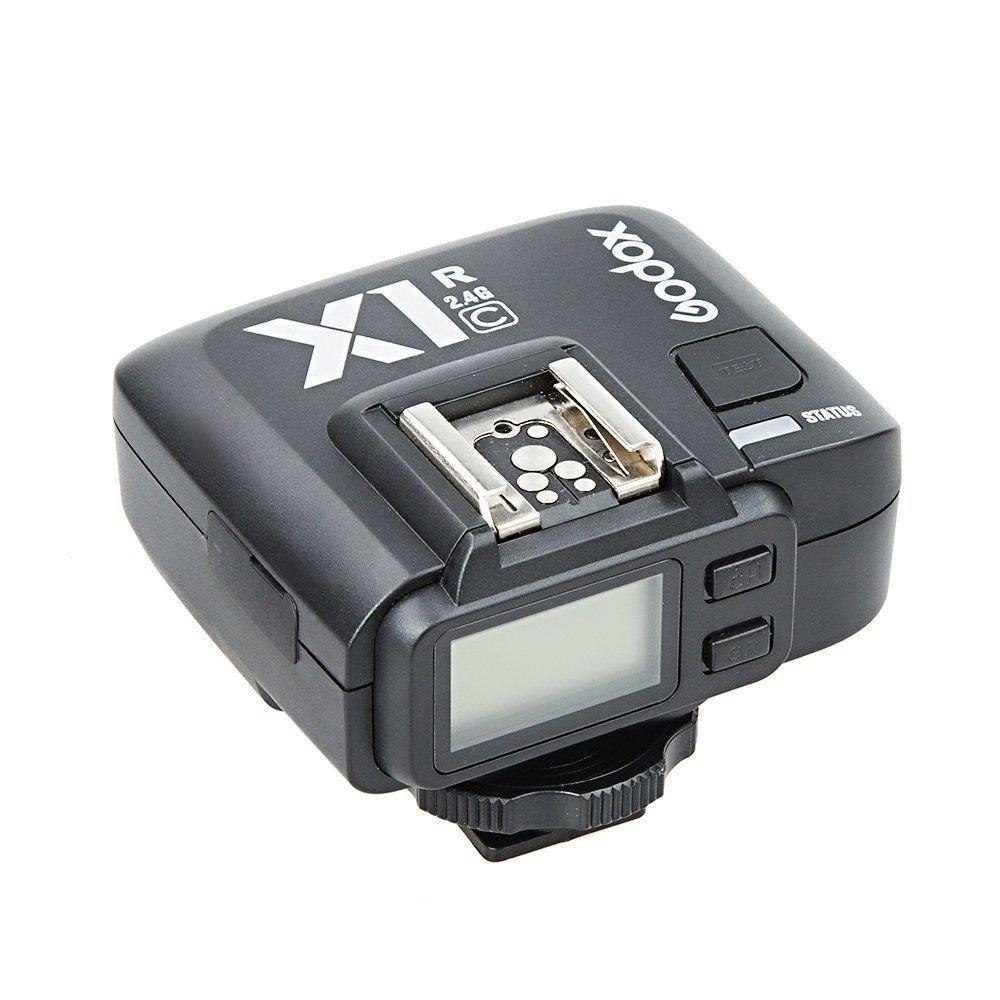 Godox X1R-C 32 Channels TTL 1/8000s Wireless Remote Flash Receiver Shutter Release for Canon EOS Cameras GODOX X1T-C Transmitter by Godox