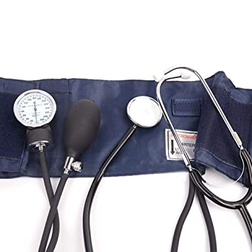 Provide The Best Profesional Médico de Sangre Medida de presión Kit de Monitor Manguito Estetoscopio Viaje/Bolsa: Amazon.es: Hogar
