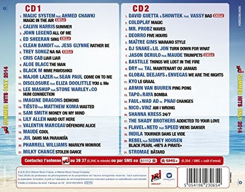 VARIOUS ARTISTS - Nrj Summer Hits Only 2014 - Amazon com Music