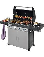 Campingaz 4 Series Classic LS Plus Barbecue a Gas, Grigio Scuro, 160.3 x 60 x 115.6 cm