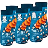 Gerber Puffs Cereal Snack, Sweet Potato, 1.48 Ounce (Pack of 6)