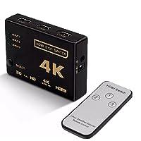 Chaveador SWITCH HDMI 3x1 ULTRA HD 4K