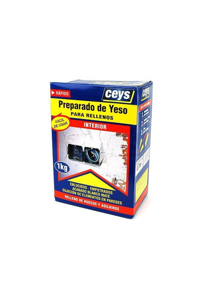 Ceys CEY400502507 Preparado De Yeso para Rellenos 1 Kg