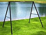 Flexible Flyer Lawn Swing Frame (Swing Not Included), Black