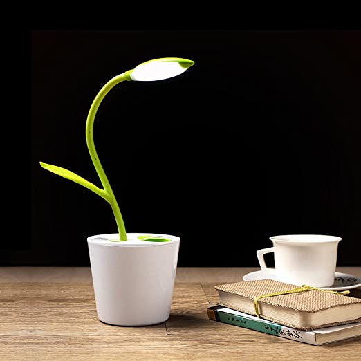 FLEXIBLE USB TOUCH LED DESK LAMP & PENCIL HOLDER