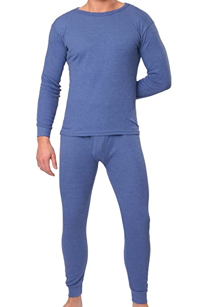 MT® THERMO LIGHT - Juego de ropa interior térmica azul - M