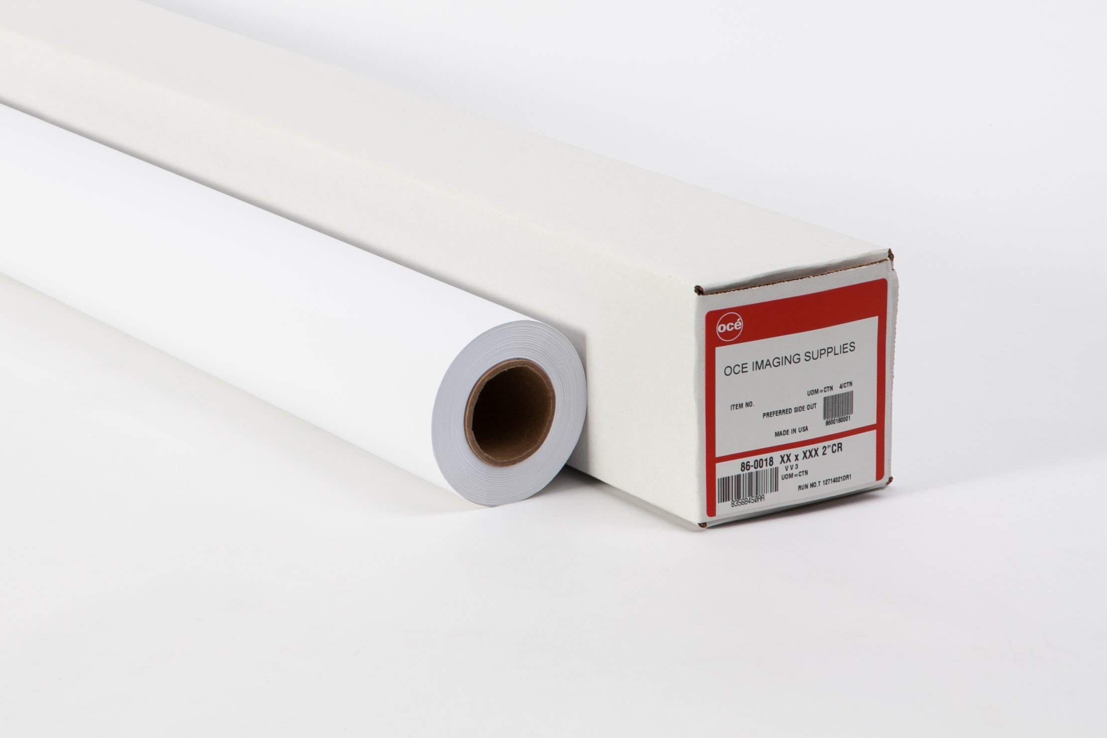 Oce 20# Inkjet - Check Plot - 2 inch core Plotter Paper - 44'' x 150' (4 roll carton - 2 inch core)