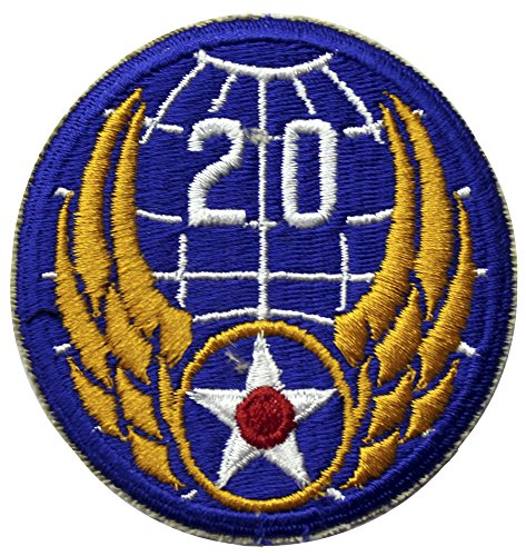 20th Army Air Force Patch WWII Full - Air Patches Wwii Force