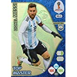 ADRENALYN XL FIFA WORLD CUP 2018 RUSSIA - LIONEL MESSI TOP MASTER TRADING CARD - ARGENTINA #463