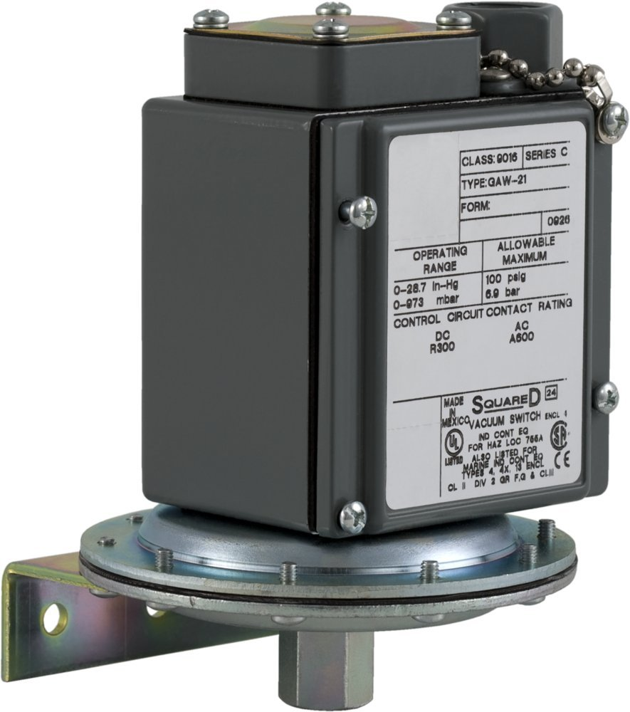 Square D by Schneider Electric 9016GAW21 Vacuum Switch G, 480 VAC, 10 Amp