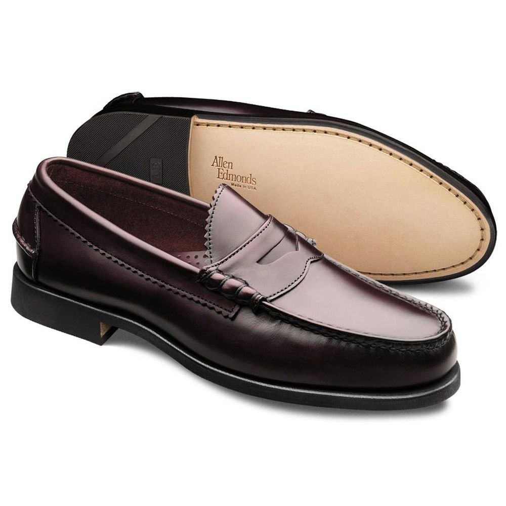 Allen Edmonds Men's Kenwood Slip-On,Burgundy,8.5 D US by Allen Edmonds