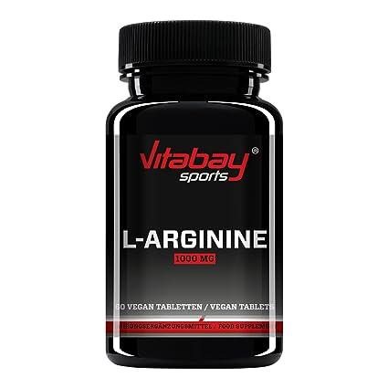 L-Arginine 1000 high dosed - Producto de calidad alemana, adecuado para personas alérgicas