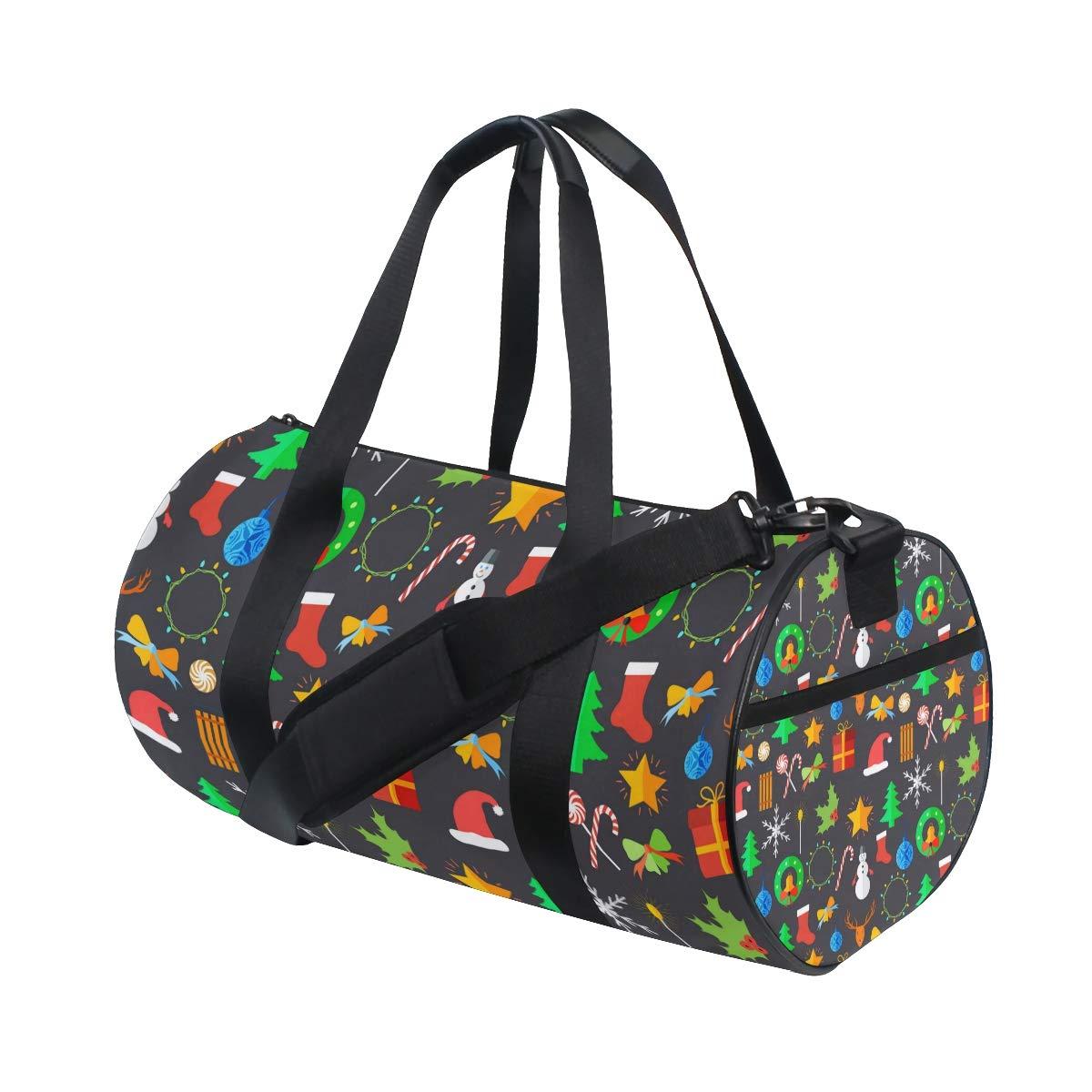 Waterproof Shoulder Bag. Good Bells Christmas Decorations Popular casual fitness bag,Non-Slip Wearable Crossbody Bag