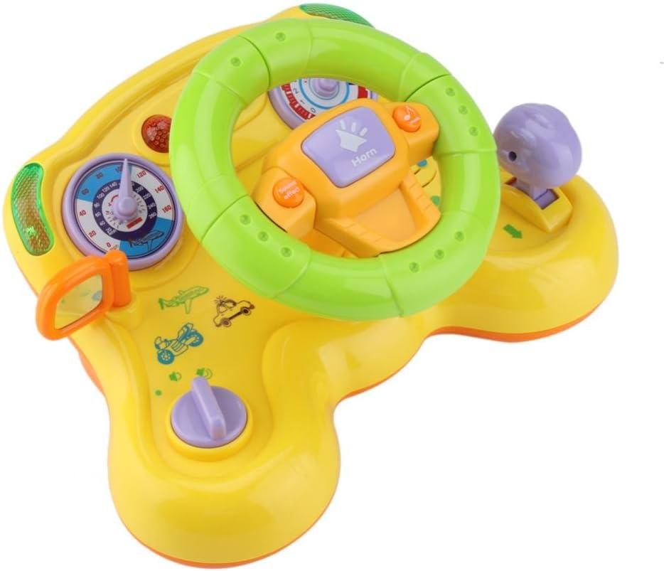 Giocattolo Volante Bambino Deformabile Giocattolo educazione precoce Divertimento Super colorato Melodia Cartoon Auto Aereo modalità Volante per