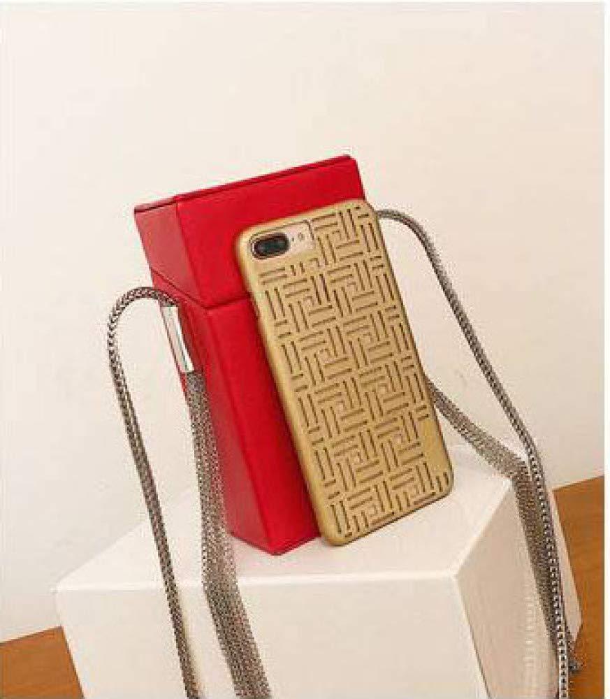 Color : Gold, Size : One Size Xingkaijixie Womens Shoulder Satchel Bag Small Square Bag Lock Single Shoulder Messenger Bag Mobile Phone Bag Simple Network red Envelope