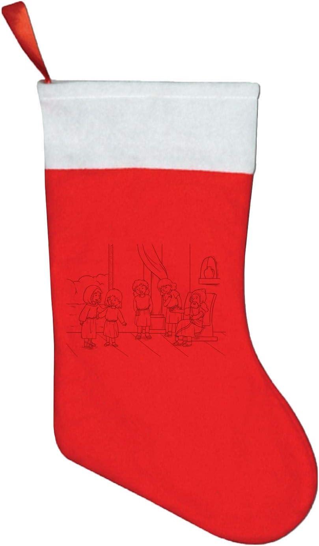 CHINITH Christmas Stockings Bible Storying Royalty Gift Bag for Kids