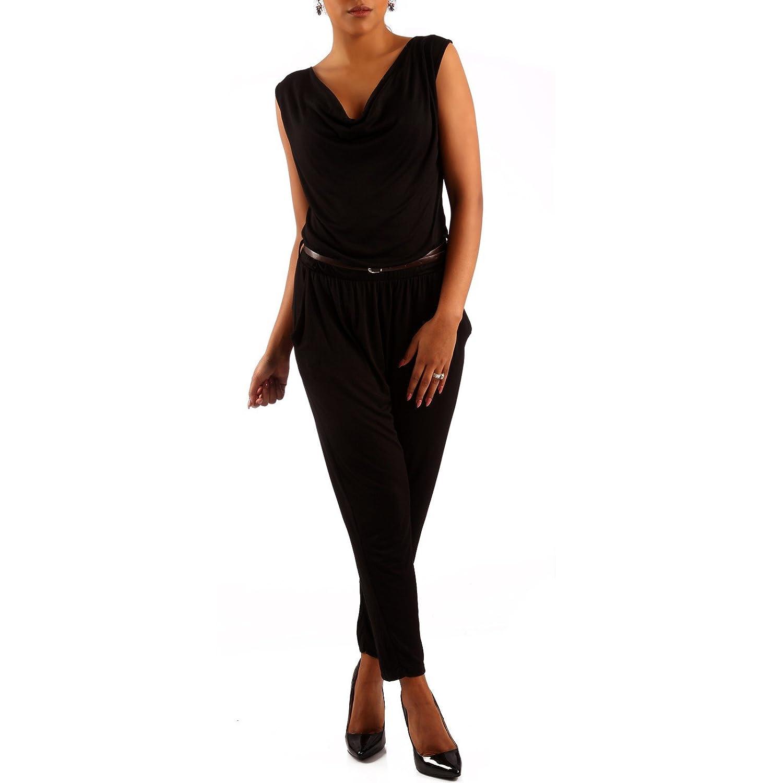 Made Italy - Tuta - relaxed - Basic - Senza maniche - donna Tuta jumpsuit da donna morbida