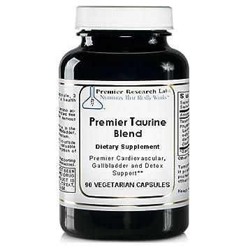 Amazon.com: Premier/mezcla de Quantum taurina, 360 Vcaps/4 ...