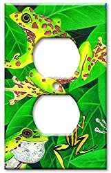 Art Plates - Frogs Switch Plate - Outlet Cover