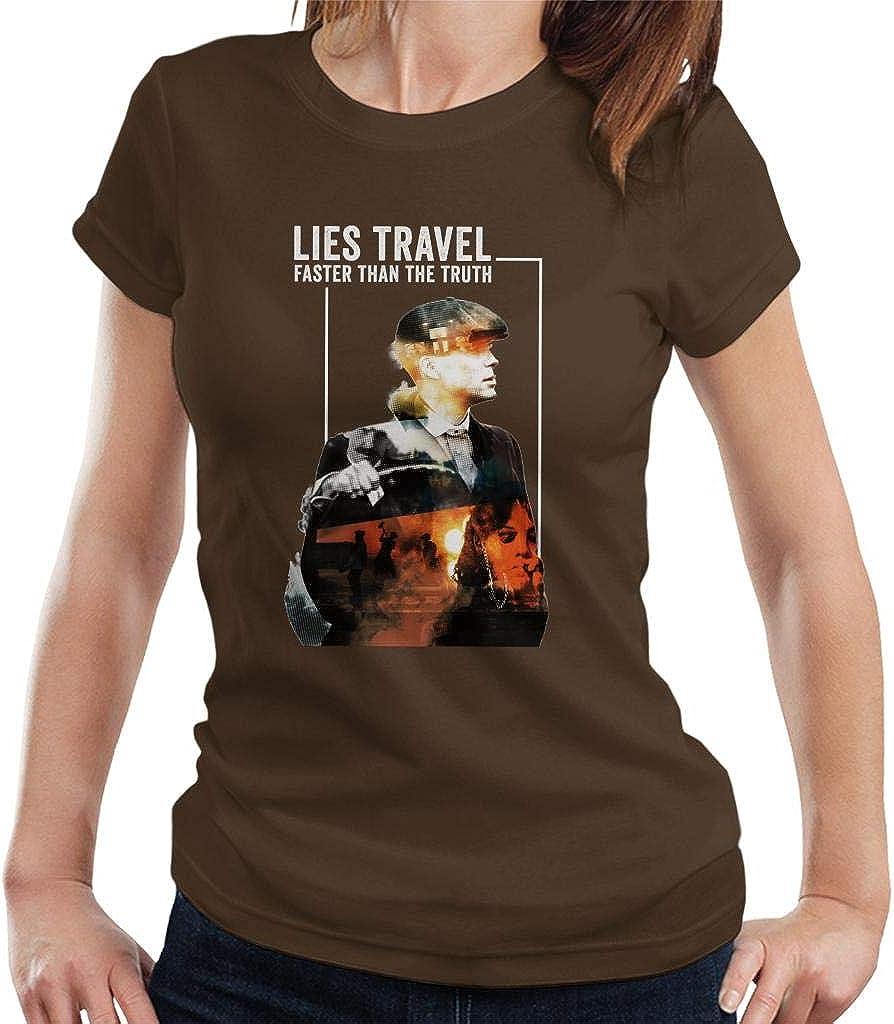Peaky Blinders Lies Travel Faster Than Truth - Camiseta para ...