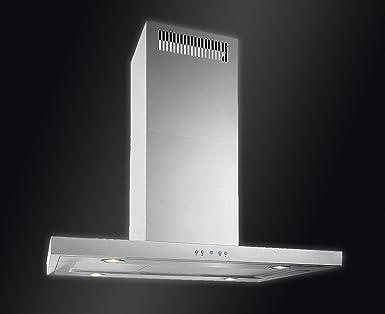 Baumann design inselhaube modell mira isola 90 x 60 cm. 800 m3 h