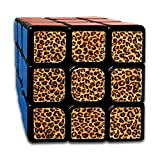 AVABAODAN Panther Leopard Print Rubik's Cube Custom 3x3x3 Magic Square Puzzles Game Portable Toys-Anti Stress For Anti-anxiety Adults Kids