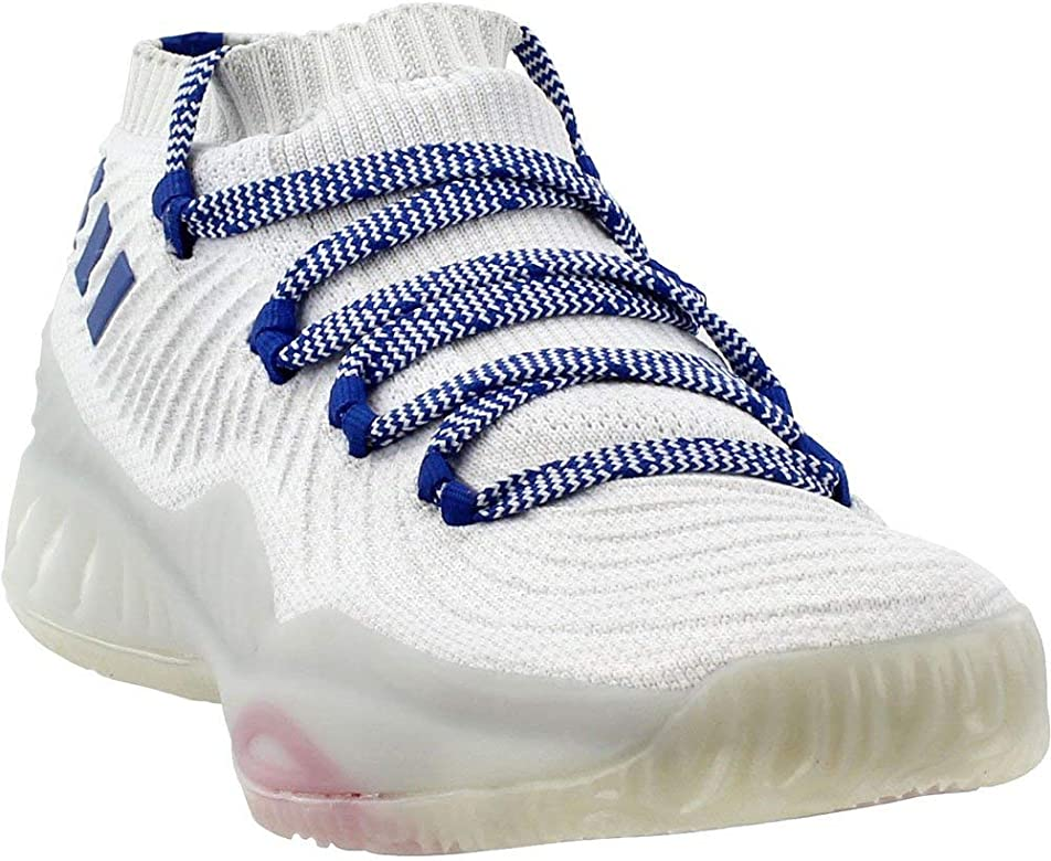a216b0c6aab6 adidas Crazy Explosive 2017 Primeknit Low Shoe - Men s Basketball 6.5  White Collegiate Royal