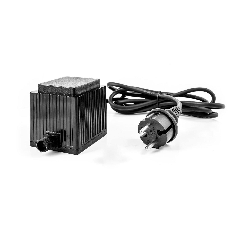 Transformateur Transformateur dalimentation 12/V AC IP44/au choix avec 1000/2000/ou 5000/ma int/érieur et ext/érieur verwendbar courant alternatif prise Basse Tension 1000mA
