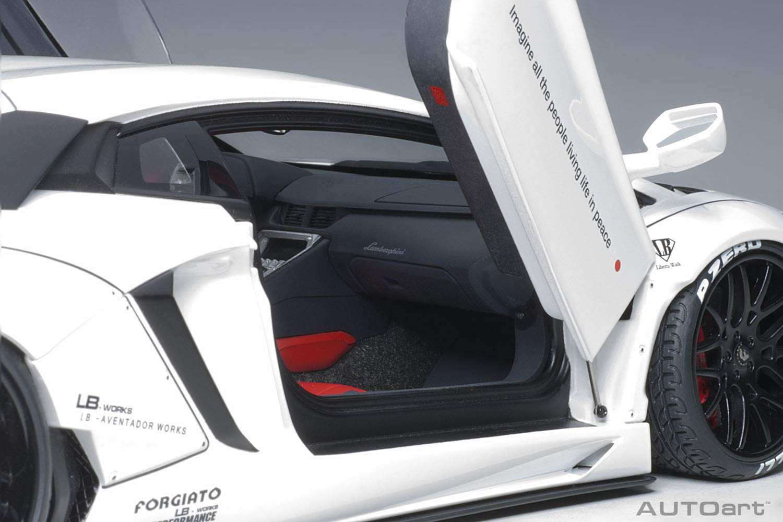 1//18 AUTOart LAMBORGHINI Aventador Liberty Walk