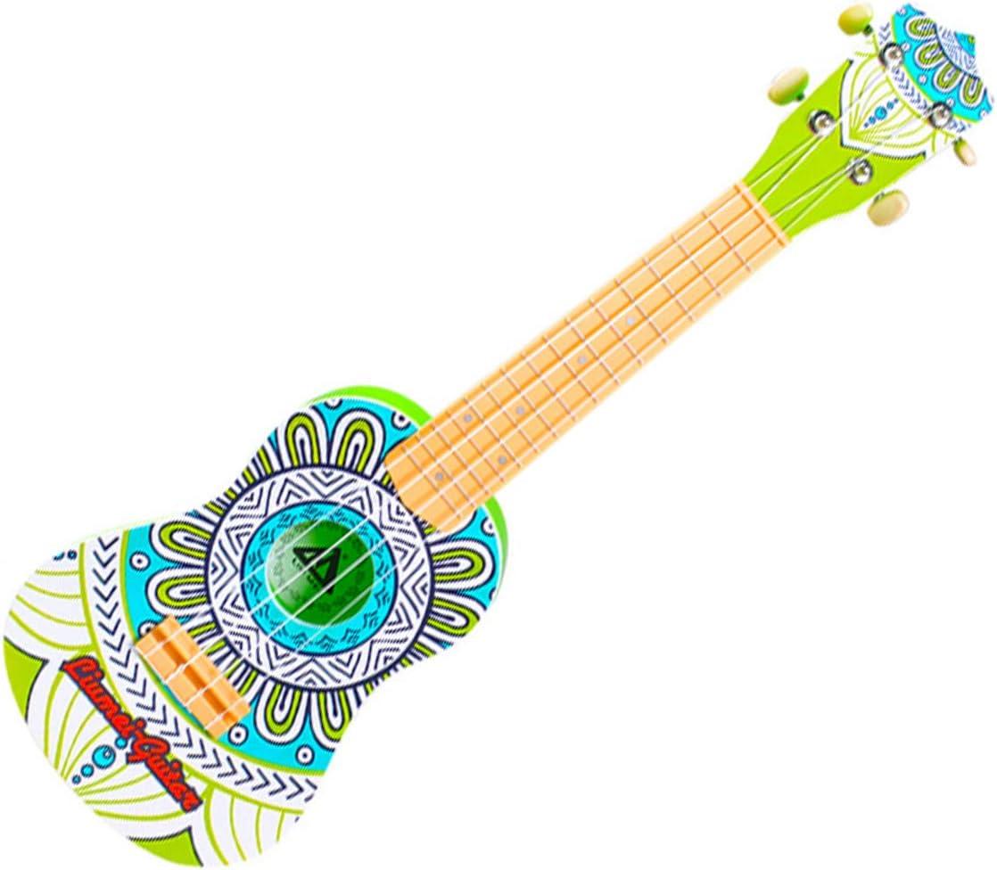 ADDG Niños Guitarra Juguetes 21 Pulgadas Vintage Principiante ...
