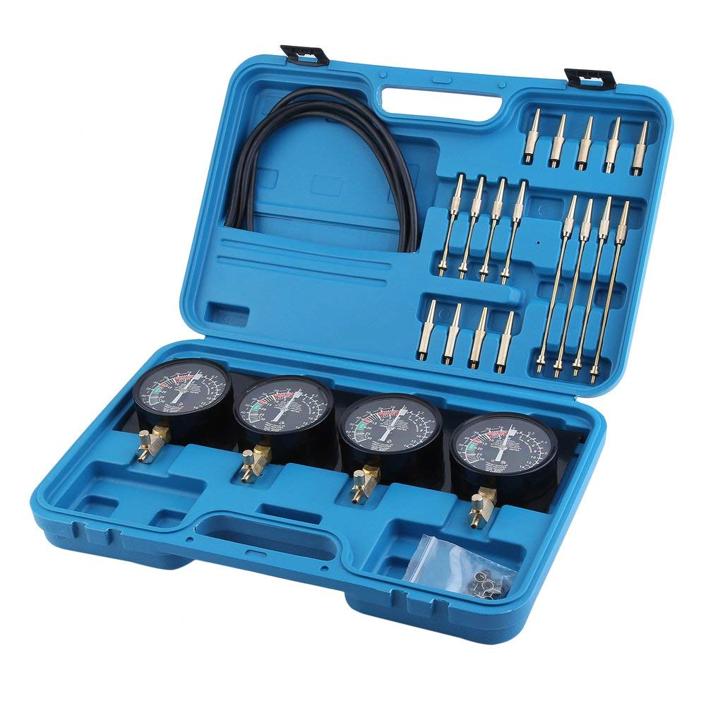 Hifeel Strumento Motore Synchron Tester 4 Orologi carburatore Orologi sincronizzati Synchron Tester