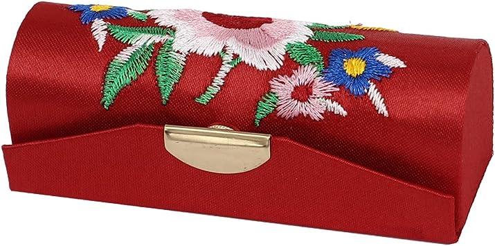 Patrón Floral Chino Estilo Pintalabios Lápiz De Labios Funda Joyería Caja Rojo: Amazon.es: Bricolaje y herramientas