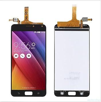 Display im Komplettset LCD Ersatz Für Touchscreen Glas Reparatur (ASUS Zenfone 4 Max ZC554KL, Schwarz)