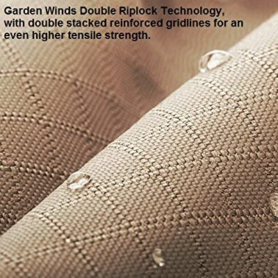 Garden Winds LCM1046BCN-RS Canopy & Netting Set for The Dawson Hexagon Gazebo Rip Lock 350 Replacement Canopy: Garden & Outdoor
