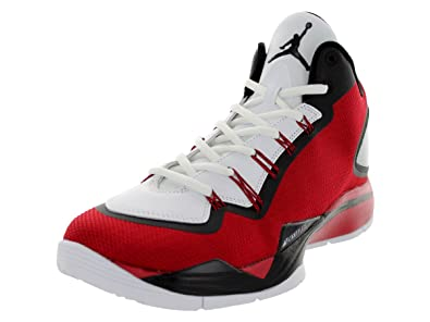456326868cfb Nike Air Jordan Super.Fly 2 PO Basketball Schuhe gym red-white-black ...