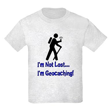 2e834ed8c1 Amazon.com: CafePress - I'm Not Lost Kids T-Shirt - Kids Cotton T-shirt:  Clothing