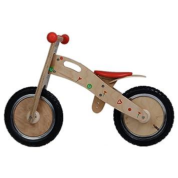 Labebe Classic Wooden Balance Bike With Adjustable