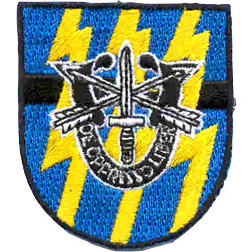 - 12th Special Forces Group With Crest Flash Patch