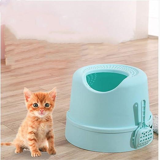 Yshen Caja de Arena para Gatos Mascota Caja de Arena para Gatos ...