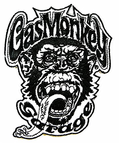 Monkey Zombie Logo Iron on Sew on Embroidered Patch - Iron On Patches Monkey